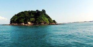 Junk Island, on the day of the expedition